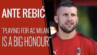 "Interview   Ante Rebić: ""AC Milan a great responsibility"""