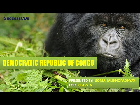 Democratic Republic of Congo - CBSE Class V Lesson