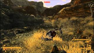 Fallout New Vegas No, Not Much part 2 of 3 Supply Caches and Climb Ev