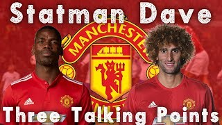 FELLAINI WILL REPLACE THE INJURED POGBA | MANCHESTER UNITED 3-0 FC BASEL