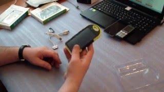 Солнечная батарея для зарядки телефона.