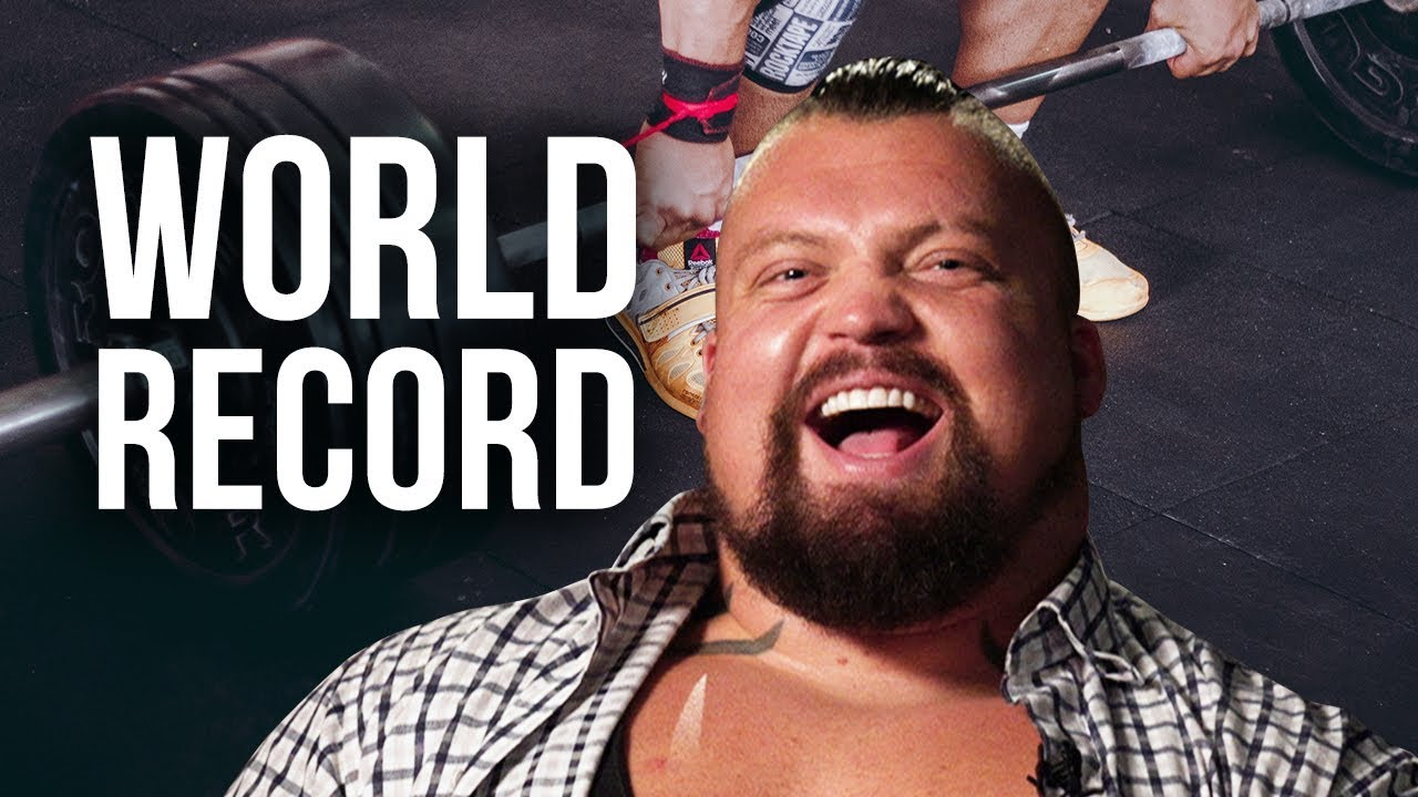 HOW IT FEELS TO BREAK A WORLD RECORD - Eddie Hall | London Real