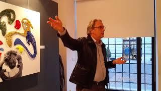 Presentazione di Maurizio Scudiero / Mostra UM GRITO CONTRA O MAL / Cassia Raad