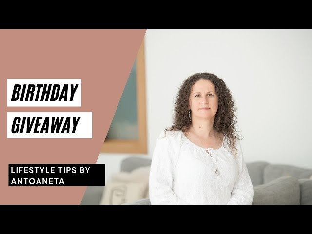 Birthday Giveaway (A Gift For You)