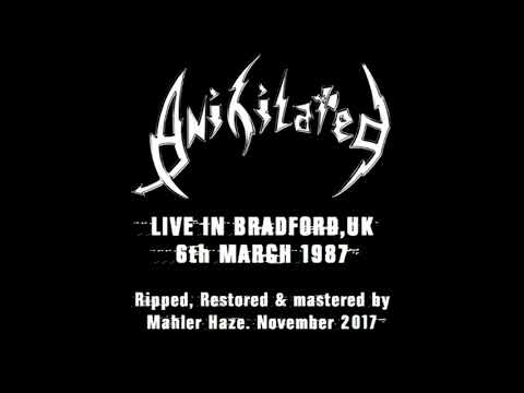 Anihilated (UK) Live @ Queen's Hall, Bradford.UK. 6th March 1987 (UK THRASH METAL)