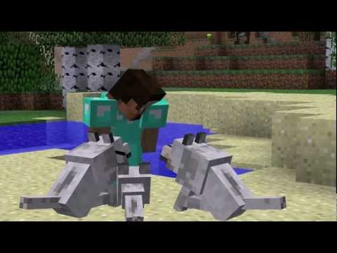 """""""Glad You're Tame"""" - Minecraft Parody of """"Glad You Came"""""""