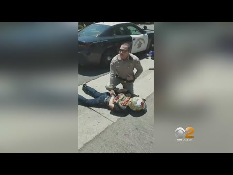 Caught On Camera: CHP Officer Knocks Motorcycle Rider Over With Cruiser During Memorial Ride, Family