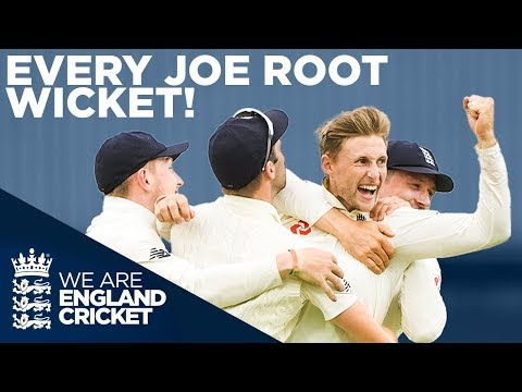 Joe Root's Best Wickets! | Every Joe Root Test Wicket In England! | England Cricket 2020