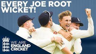 Joe Root's Best Wickets! | Every Joe Root Test Wic...