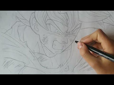 Live Dessin Goku Ultra Instinct