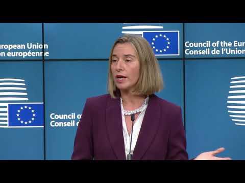 EU's Mogherini on PESCO