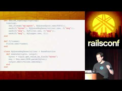 RailsConf 2014 - Supercharge Your Workers with Storm by Carl Lerche