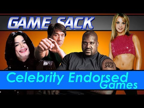 Celebrity Endorsed Games - Game Sack