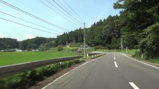 福島県道285号 01 北方遅沢線 北方→遅沢 車載