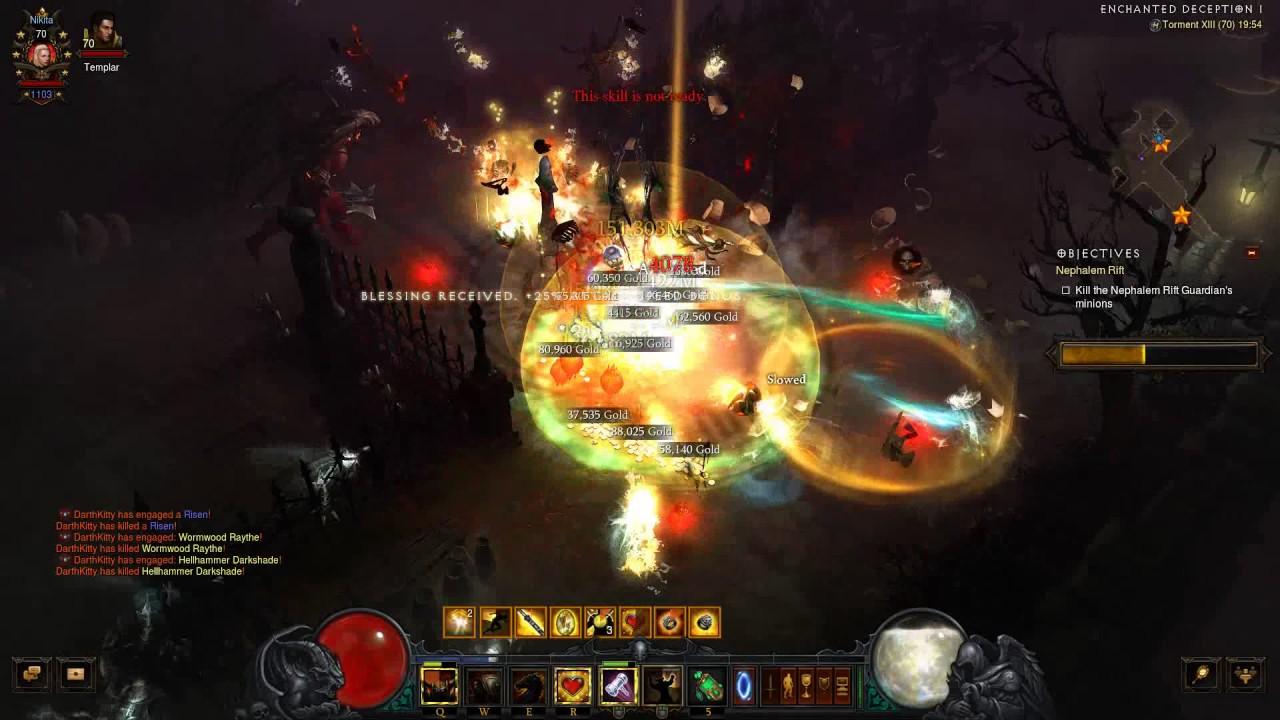 Diablo  Build Akkhan