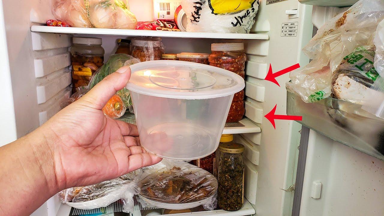 空打包盒别扔,原来放冰箱这么神奇,一年省下不少钱,方法太棒了
