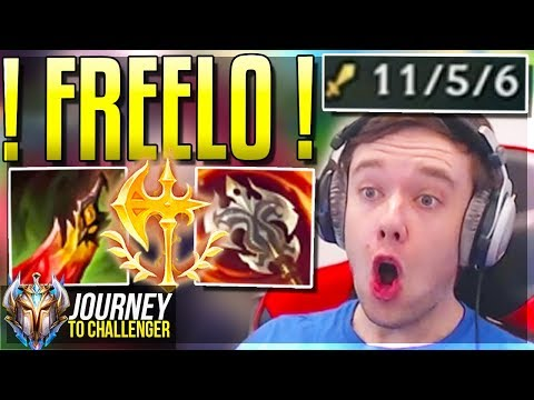 WHY DIDN&39;T I PLAY THIS CHAMP SOONER?? - Journey To Challenger  LoL