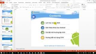 [Học android cơ bản] Giới thiệu khóa học lập trình android cơ bản