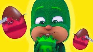 PJ Masks en Español 🥚 ¡Feliz Pascua! 🥚 Dibujos Animados