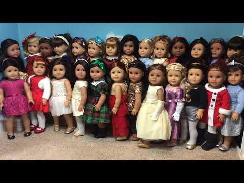 Happy Holidays Dressing my Dolls 2017