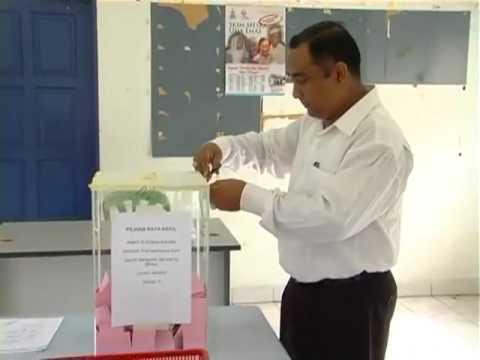 17 Open the ballot box