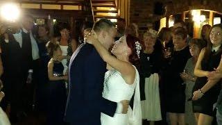Georgia & Ben's wedding reception at Ashwells, Brentwood 07/11/14