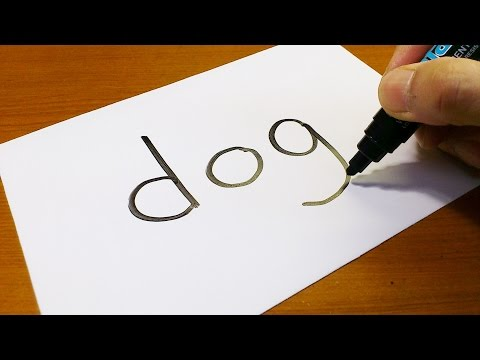 how to turn words into a cartoon for kids