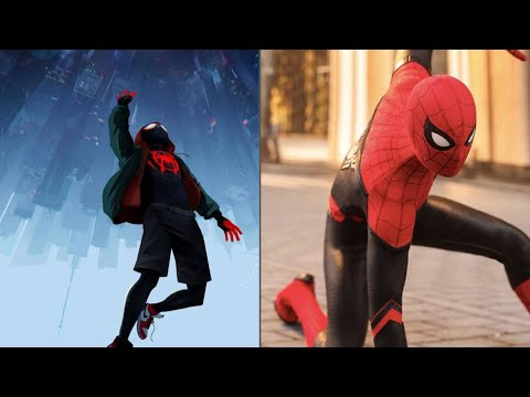 Spider man sings tony we love you 3000 vs miles sing  a song