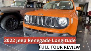 2021 / 2022 Jeep Renegade Longitude 1.4L || FULL TOUR REVIEW