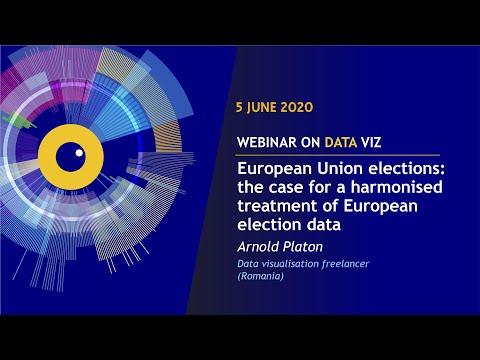 EU DataViz webinar - Arnold Platon - European Union elections