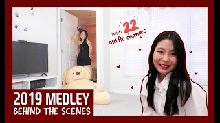 [Behind the Scenes] How I Film Dance Medleys with Outfit Changes