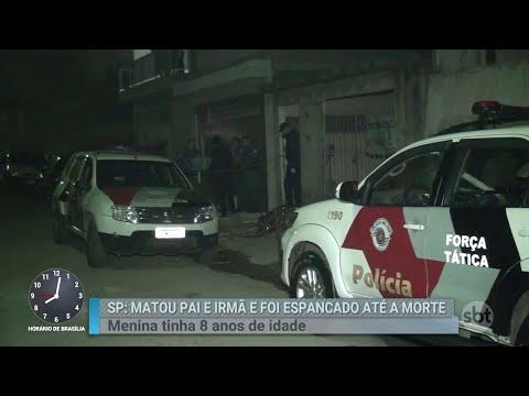 Jovem é espancado até a morte após assassinar a própria família em SP | Primeiro Impacto (09/07/18)