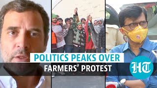 Farmers' protest enters Day 5: Watch what Rahul Gandhi & Sanjay Raut said