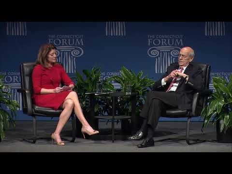 Supreme Court Justice Stephen Breyer on the First Amendment