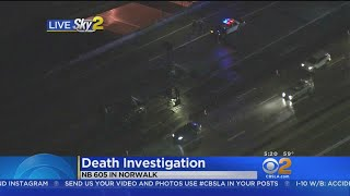 Death Investigated Along NB 605 In Norwalk