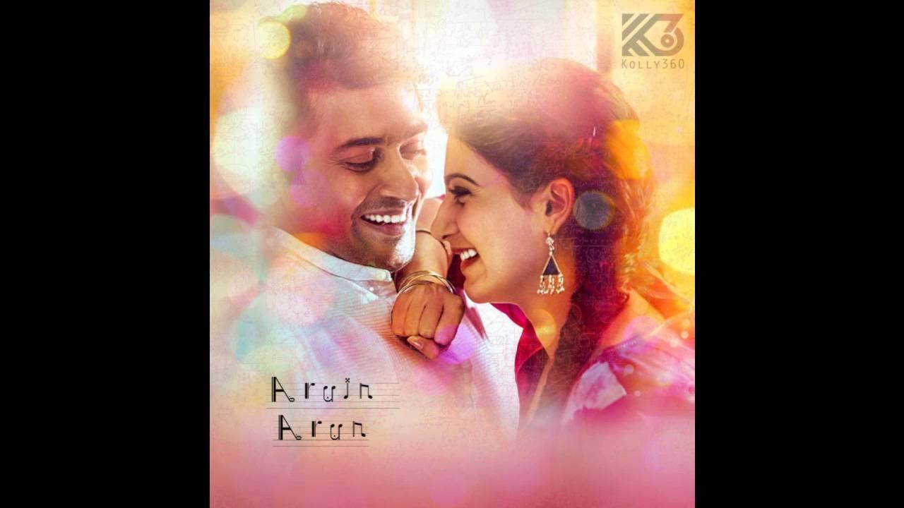 Naan Un Azhaginile Bgm Love Theme 24 Movie Scored By Ar