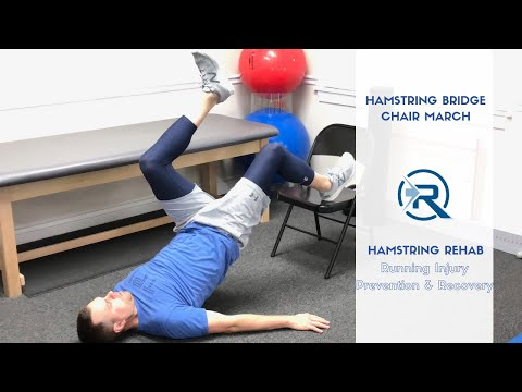 Hamstring Bridge March Exercise | Running Hamstring Injury Relief | SLC Utah Sports Chiropractor