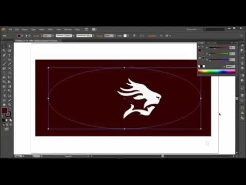 How to design an attractive lion logo illustrator tutorial