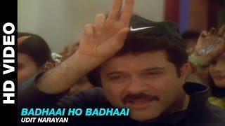 Badhaai Ho Badhaai - Title Track | Udit Narayan | Anil Kapoor, Shilpa Shetty & Keerti Reddy