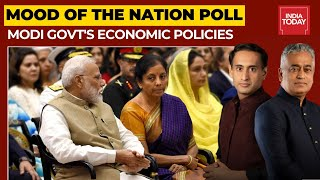 Rating Modi Govt's Economic Performance: People's Faith In Govt Policies Intact | Mood Of The Nation