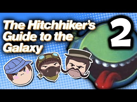 The Hitchhiker's Guide to the Galaxy: Strength in Peanuts - PART 2 - Steam Train