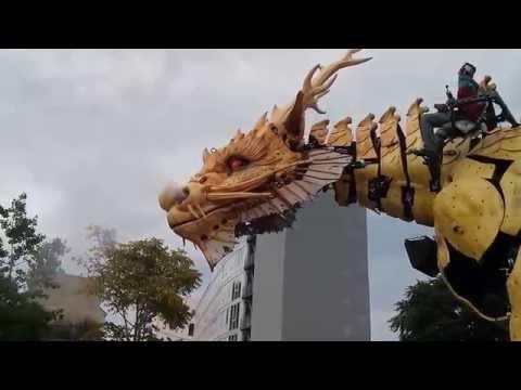Long Ma - Dragon - Machines de l'île - Nantes