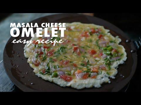 Masala Cheese Omelet | Nepali Food Recipe