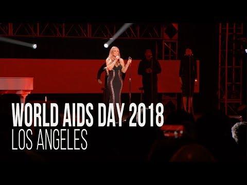 World AIDS Day 2018 in Los Angeles f/ Mariah Carey, DJ Khaled, Ne-Yo