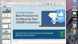 OSSIM Tutorial: Best Practices for OSSIM Configuration