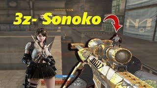 Bình Luận CFQQ: 3Z Noble Gold Búp bê SONOKO - Rùa Ngáo