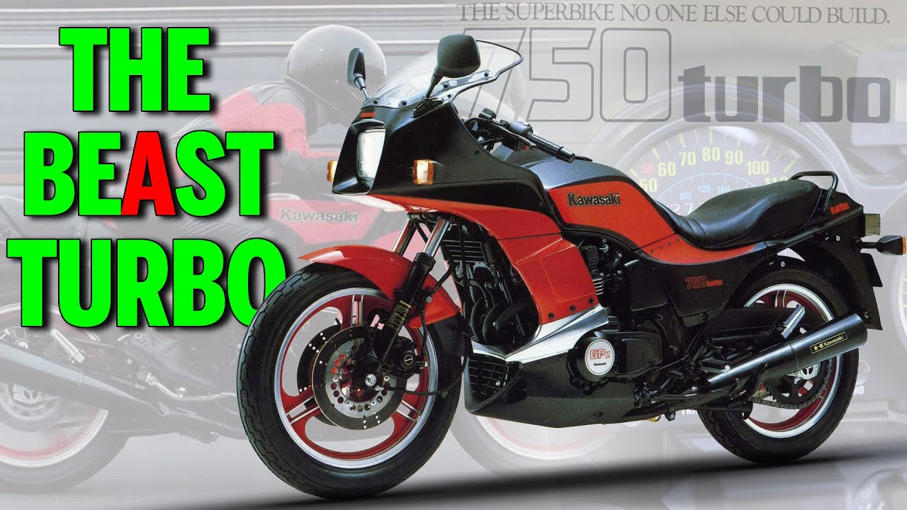 Era MOTOR TURBO Jepang: KAWASAKI ZX750 TURBO | History Lesson