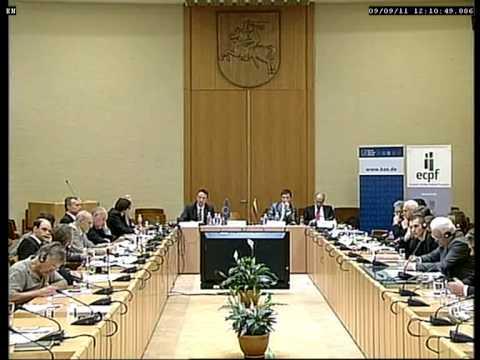 ECPF seminar on the