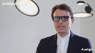 Euroluce 2019 | AXOLIGHT - Giuseppe Scaturro presenta Manto, Liaison, Cloudy e Cut