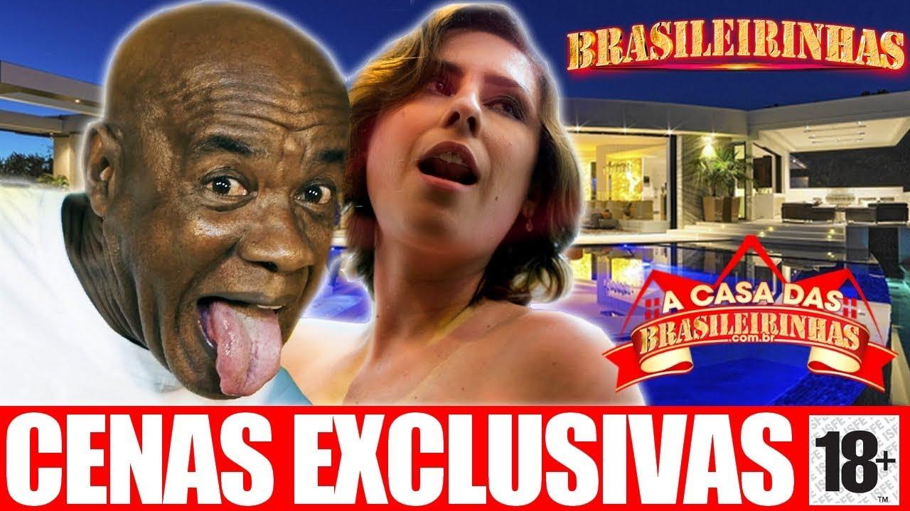 +18 Emme White Na Casa Das Brasileirinhas ft. Kid Bengala | SexxxtaHot